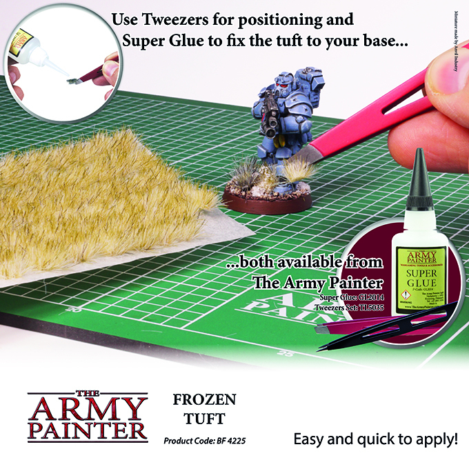 Frozen Tuft - The Army Painter 3