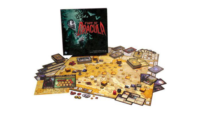 Fury of Dracula 4th Edition 1