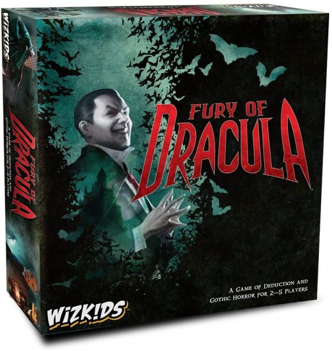 Fury of Dracula 4th Edition 0