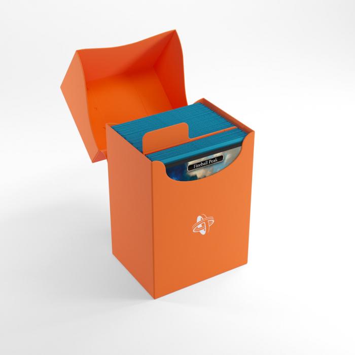 Deck Holder 80+ Orange - Gamegenic 1