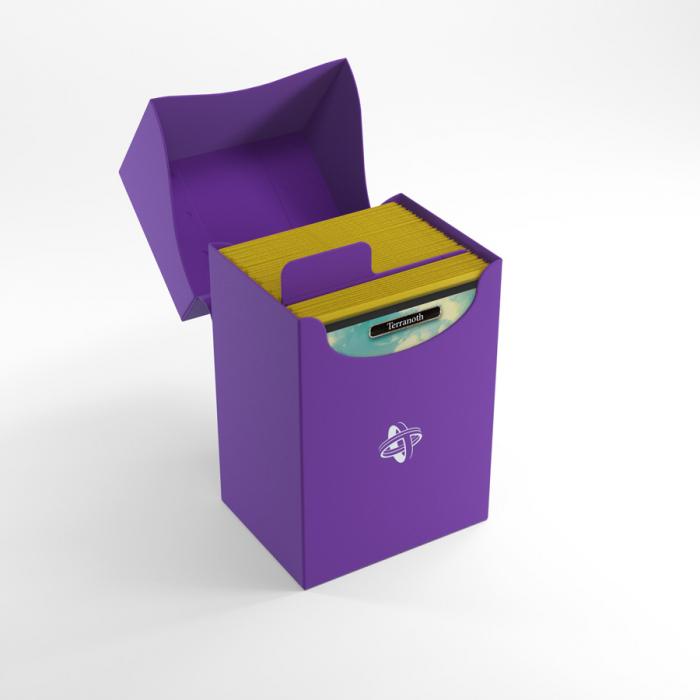 Deck Holder 80+ Purple - Gamegenic 1