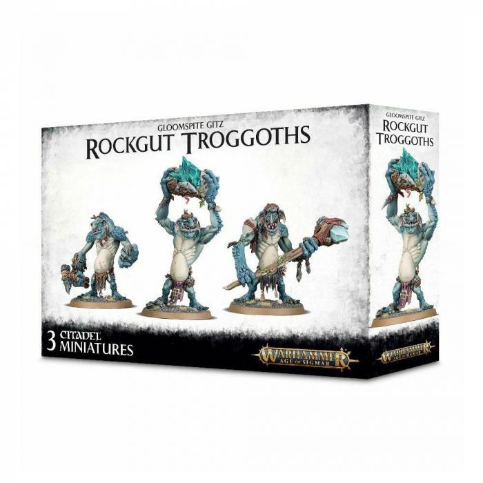 Gloomspite gitz Rockgut Troggoths 0