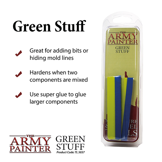 Green Stuff - The Army Painter 1