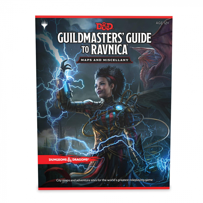 Guildmaster's Guide to Ravnica Maps & Miscellany 0