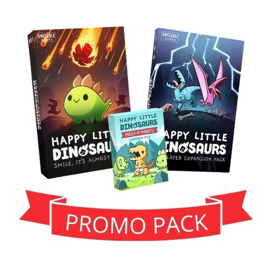 Happy Little Dinosaurs - Promo Pack [0]