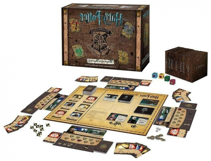 Harry Potter Hogwarts Battle: A Cooperative Deck Building Game - EN 1
