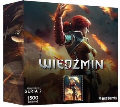 Heroes of the Witcher Series 2 Puzzle - Triss Merigold 0