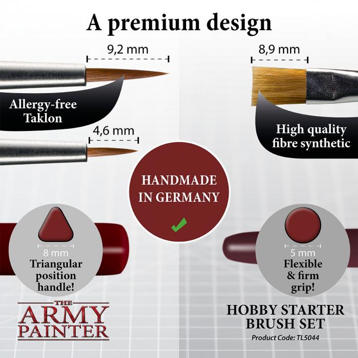 Hobby Starter Brush Set - The Army Painter 3