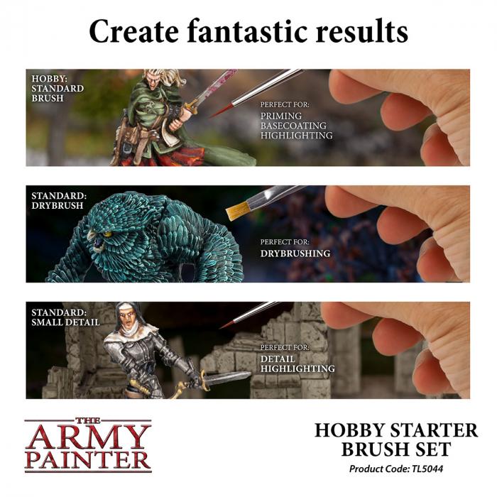 Hobby Starter Brush Set - The Army Painter 2