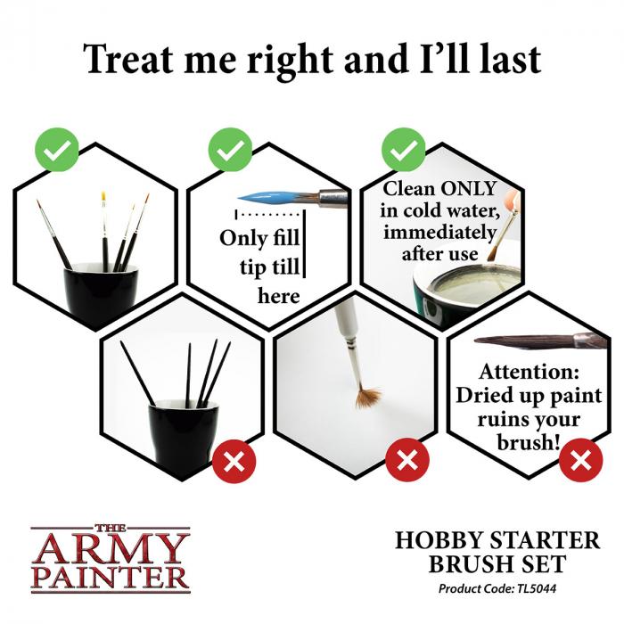 Hobby Starter Brush Set - The Army Painter 5