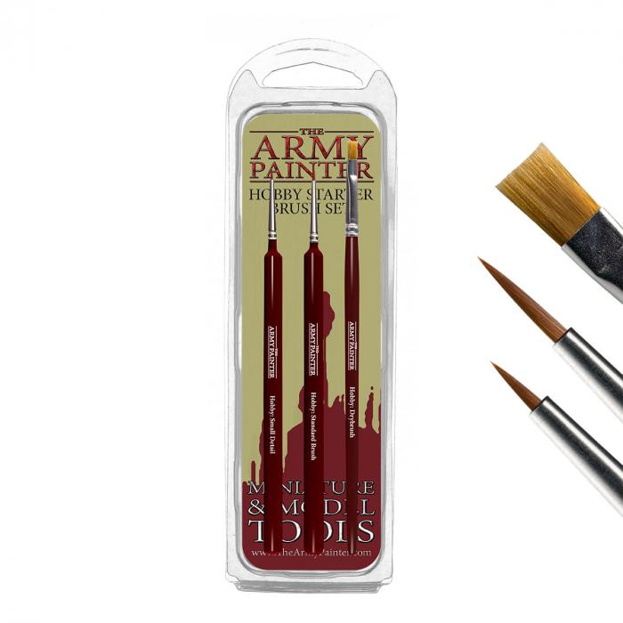 Hobby Starter Brush Set - The Army Painter 1
