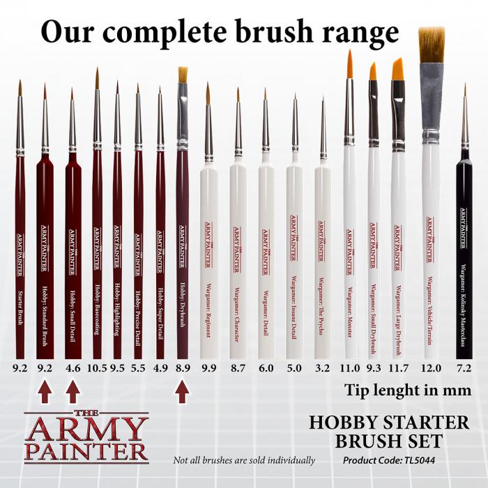 Hobby Starter Brush Set - The Army Painter 4