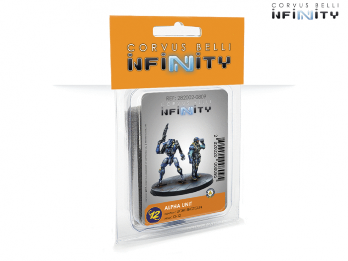 Infinity: Alpha Unit (Light Shotgun) 0