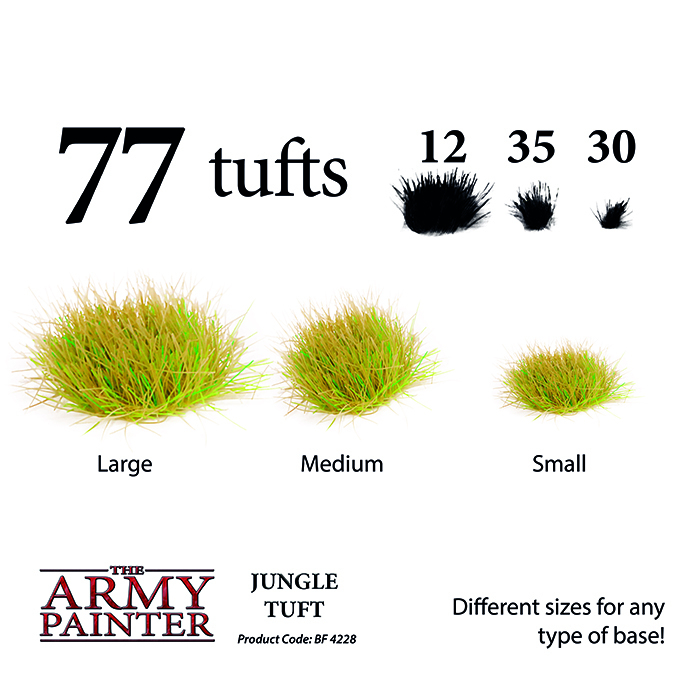 Jungle Tuft - The Army Painter 2