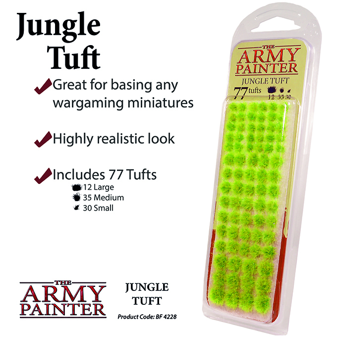 Jungle Tuft - The Army Painter 1