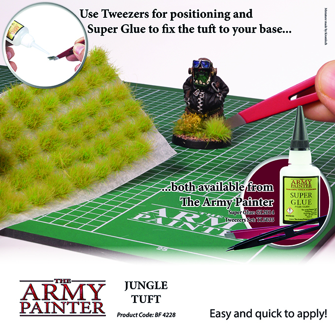 Jungle Tuft - The Army Painter 3