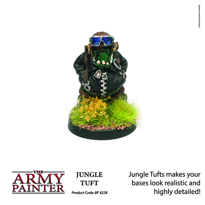 Jungle Tuft - The Army Painter 4