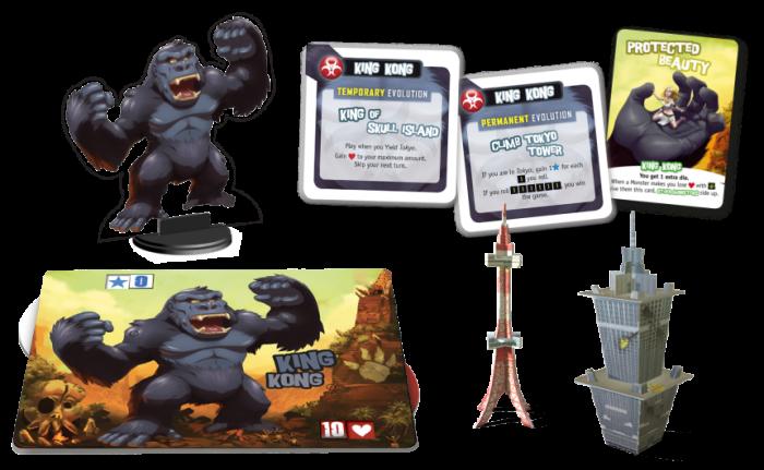 King of Tokyo: Monster Pack - King Kong (Extensie) 1