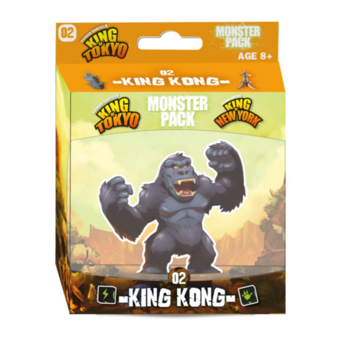 King of Tokyo: Monster Pack - King Kong (Extensie) 0