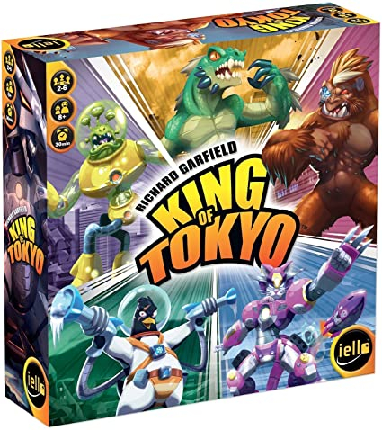 King of Tokyo & Power Up - Promo Pack 1