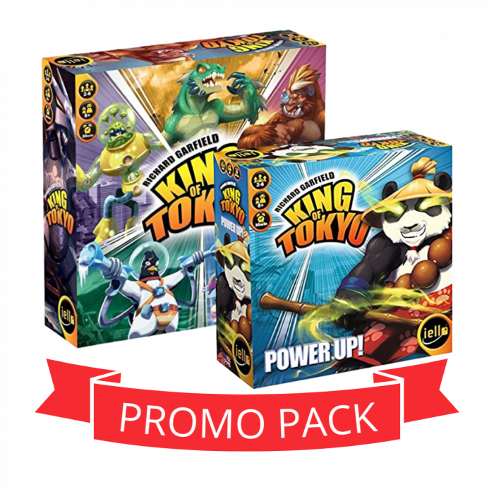 King of Tokyo & Power Up - Promo Pack 0