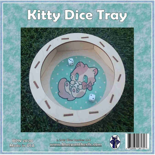 Kitty Dice Tray 0