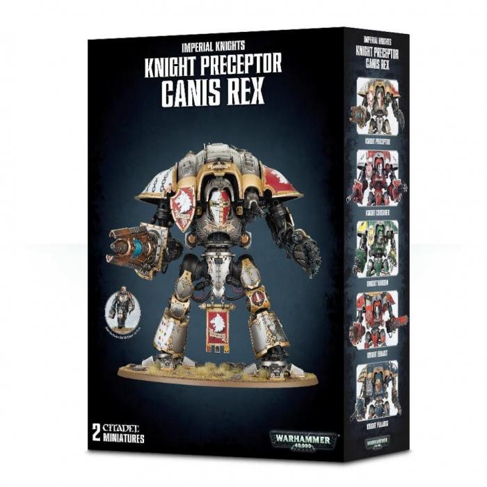 Knight Preceptor Canis Rex 0