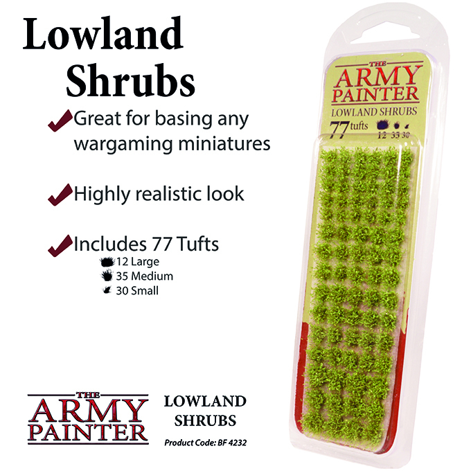 Lowland Shrubs - The Army Painter 1