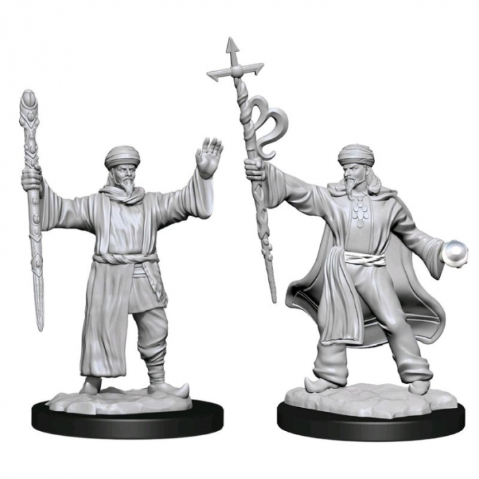 Male Human Wizard - Nolzur's Marvelous Unpainted Miniatures [0]