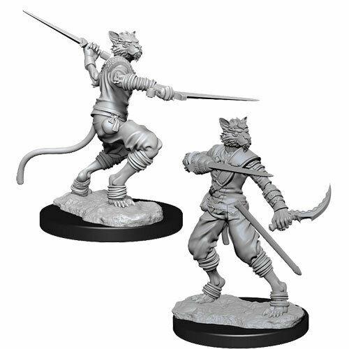 Male Tabaxi Rogue D&D Nolzur's Marvelous Unpainted Miniatures [0]