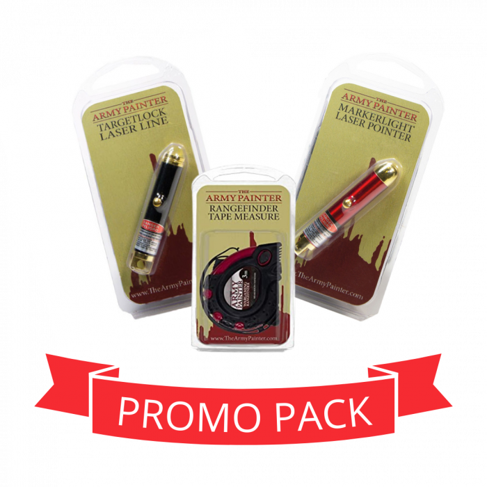 Measuring Tape + Lasers - Promo Pack 0