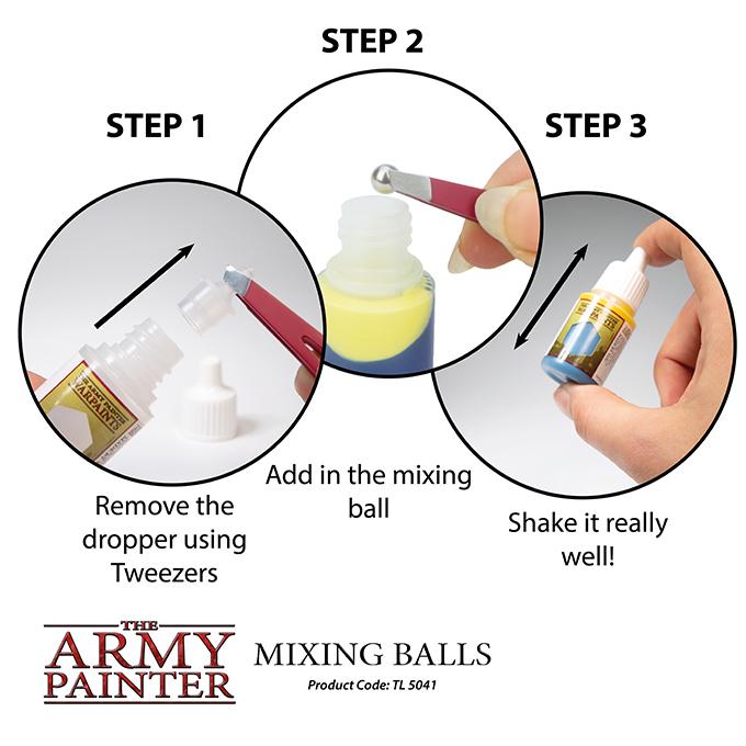 Mixing balls 3
