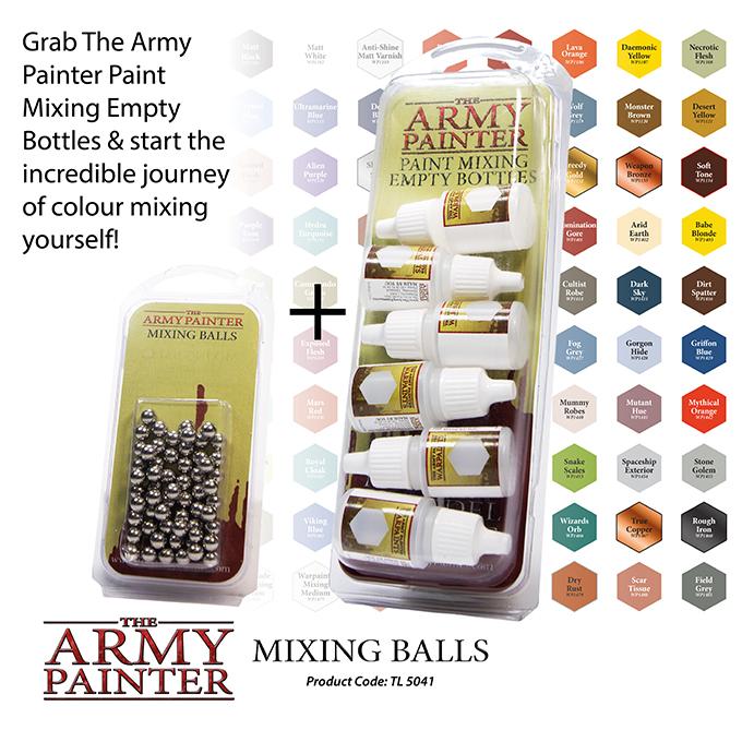 Mixing balls 1