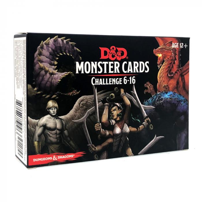 Monster Cards Challenge 6-16 - EN 0