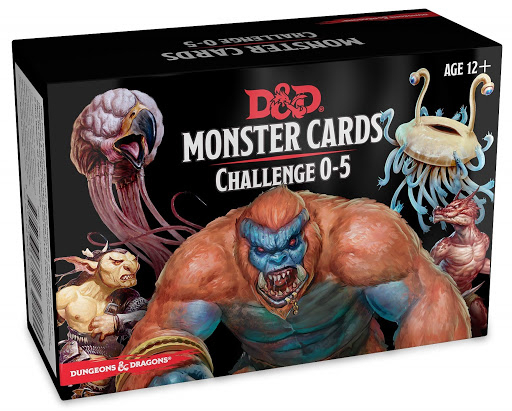 Monster cards Challenge 0-5 0