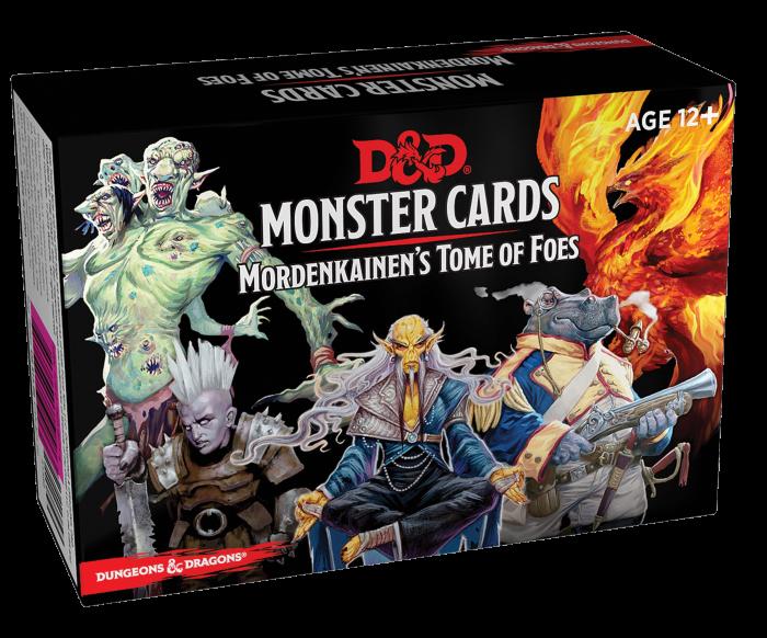 Monster cards Mordenkainen's Tome of Foes - EN 1