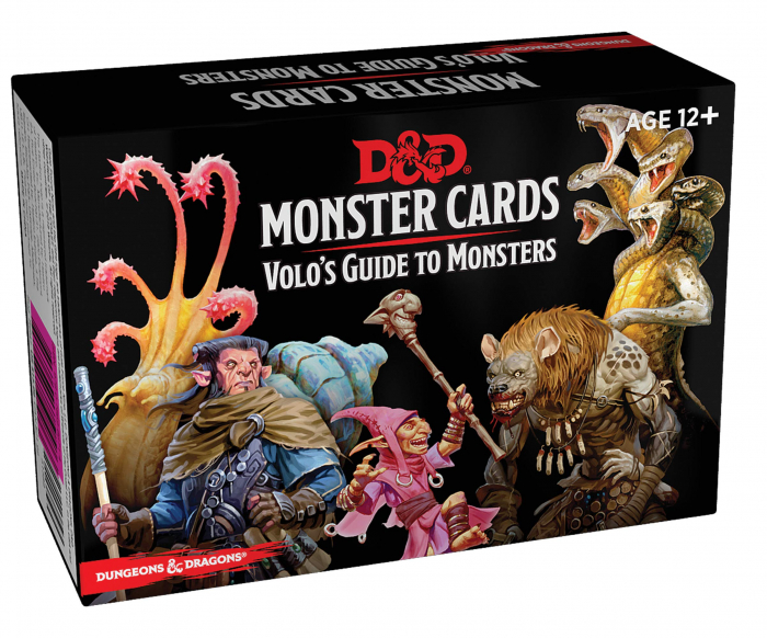 Monster cards Volo's guide to monsters 1