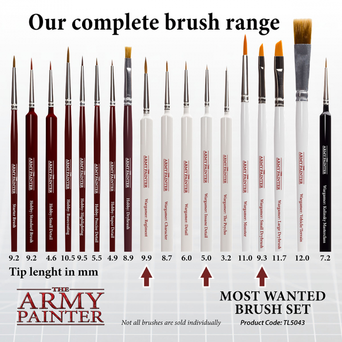Most Wanted Brush Set - The Army Painter 3