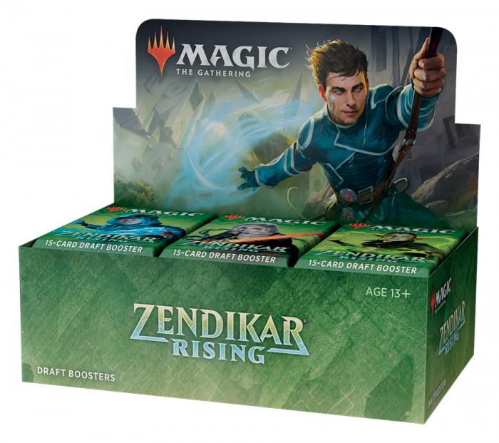 MTG - Zendikar Rising Draft Booster 3