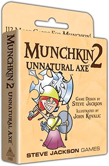 Munchkin 2 - Unnatural Axe (Extensie) - EN [0]