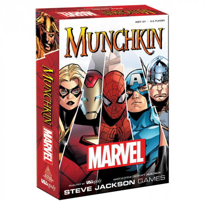 Munchkin: Marvel 0