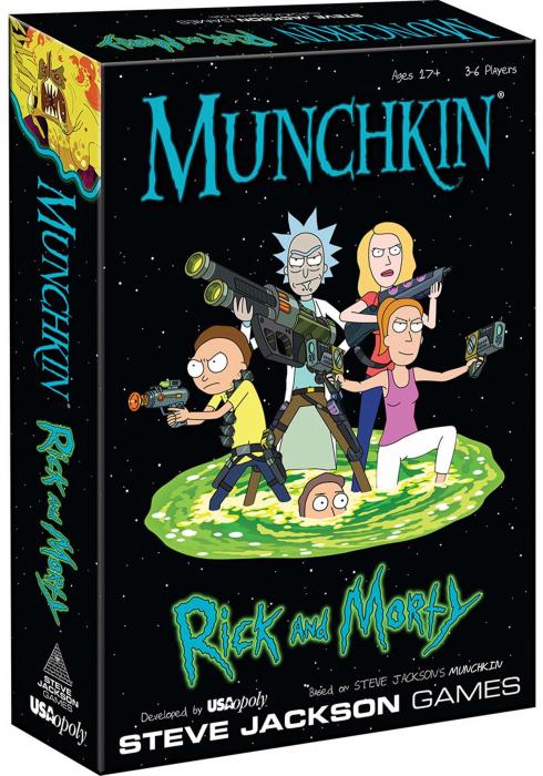 Munchkin: Rick and Morty - EN 0