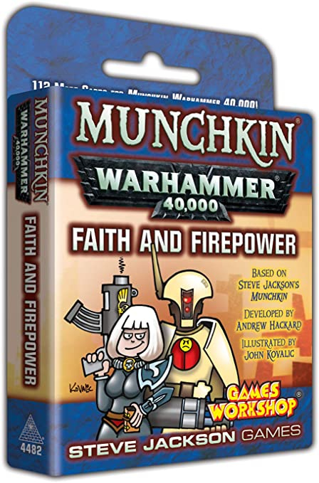 Munchkin Warhammer 40,000 – Faith and Firepower (Extensie) 0