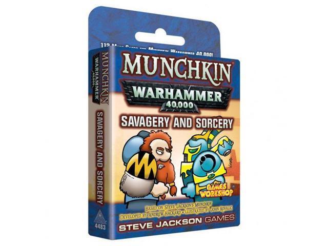 Munchkin Warhammer 40,000 – Savagery and Sorcery (Extensie) - EN 0