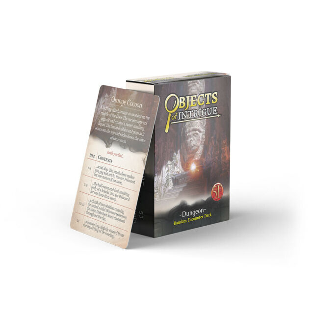 Objects of Intrigue: Dungeons 0