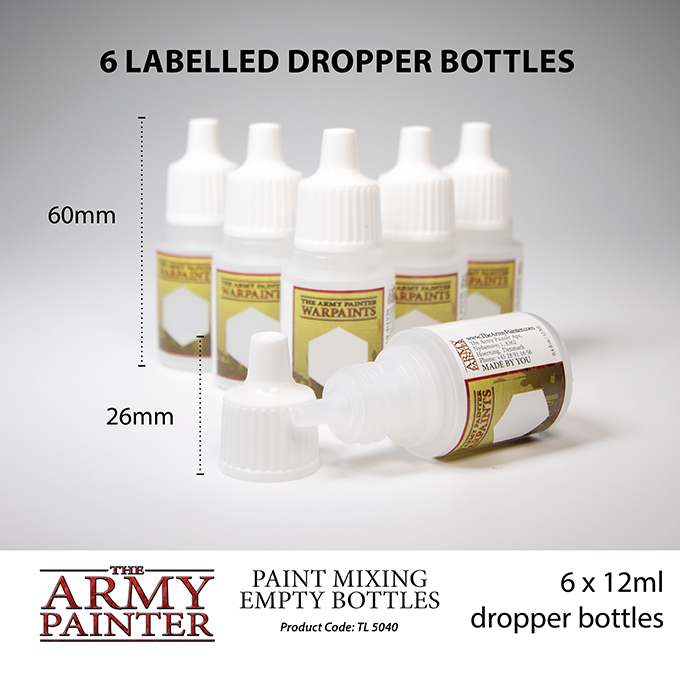 Paint Mixing Empty Bottles - The Army Painter 2