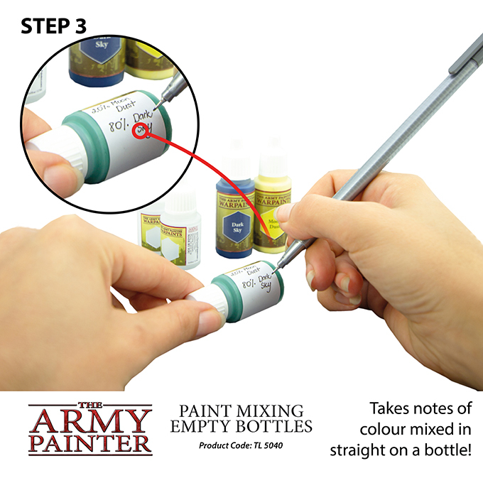 Paint Mixing Empty Bottles - The Army Painter 5