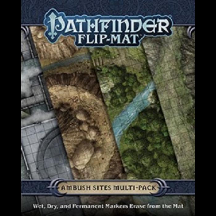 Pathfinder Flip-Mat: Ambush Sites Multi-Pack 0