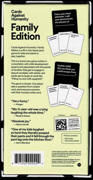 Cards Against Humanity - Family Edition - EN [1]