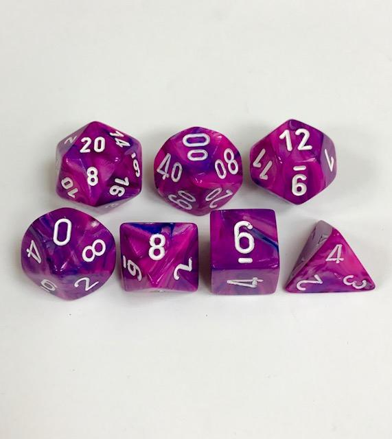 Poly 7 Set: Festive Violet w/white 0